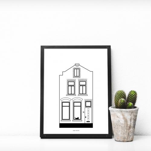 Jouw huis op poster