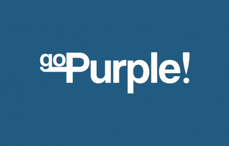 Logo GoPurple door Studio MEEMS