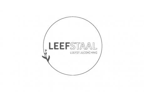 Logo LEEFSTAAL door Studio MEEMS